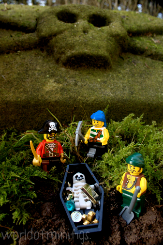 Captain Brick always knew he'd discover Old Bartholomew's legendary treasure one day.