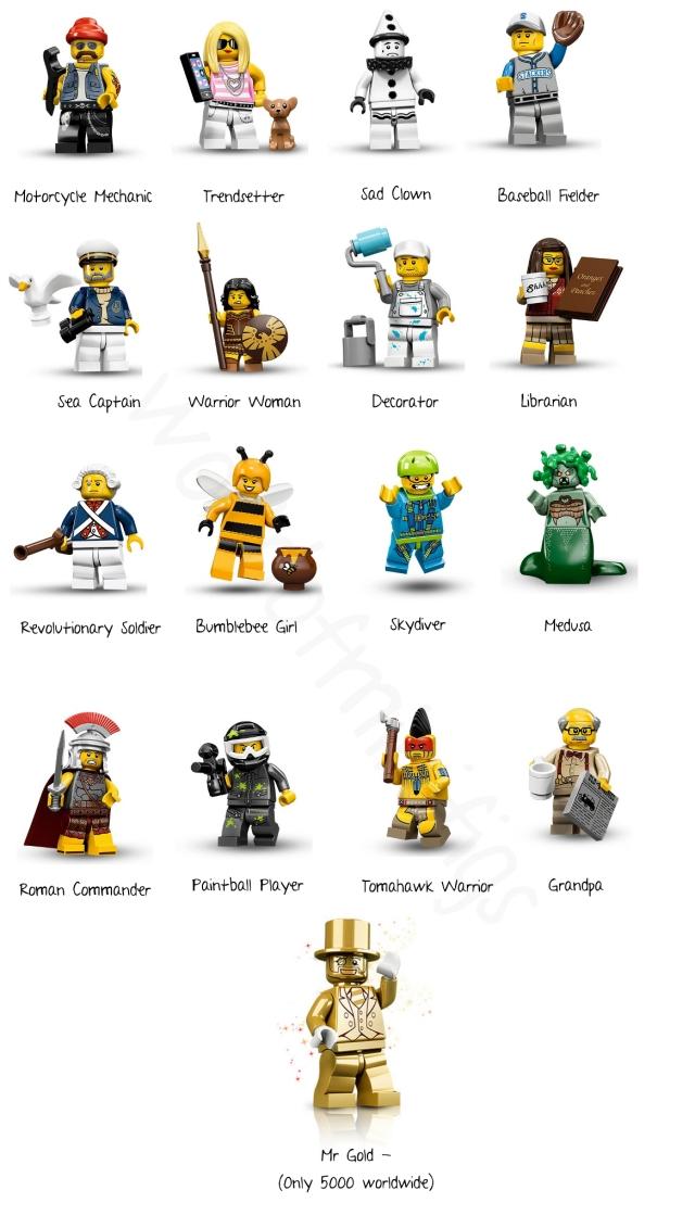 Series 10 Minifigures