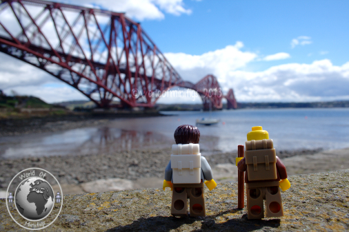 Bob and his Dad went on a little sightseeing tour whilst meeting up with friends