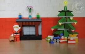 lego; minifigs; minifigure; photography; minifgure; worldofminifigs; world of minifigs; christmas; santa; chimney; twas night before
