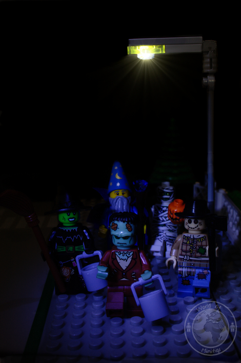 lego; minifigs; minifigure; photography; minifgure; worldofminifigs; world of minifigs; trick or treat
