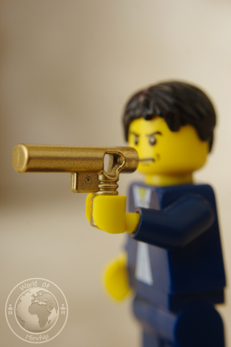 golden gun; 007; ian fleming; bond; books; lego; photography; minifigs; minifigure; worldofminifigs; world of minifigs; book titles;