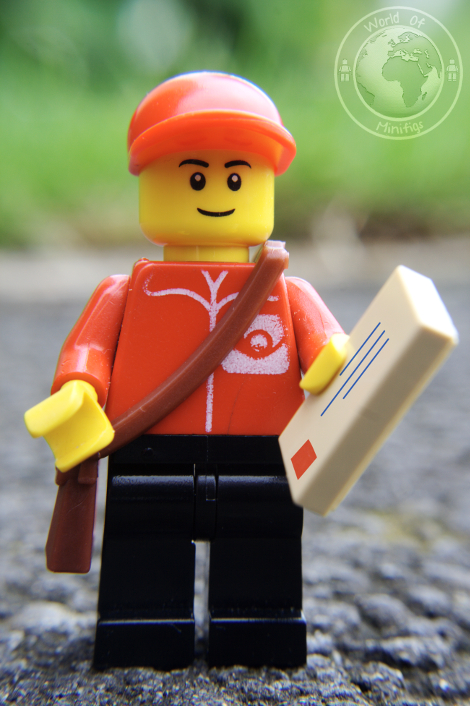 postman; David Brin; books; lego; photography; minifigs; minifigure; worldofminifigs; world of minifigs; book titles;