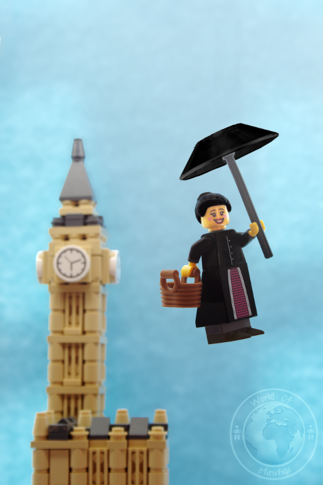 mary poppins; books; lego; photography; minifigs; minifigure; worldofminifigs; world of minifigs; book titles;